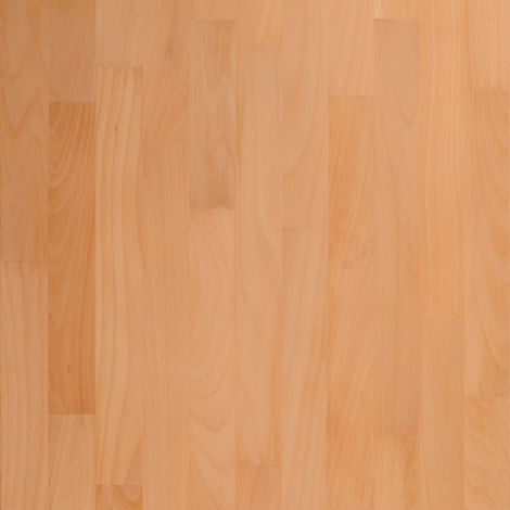 Solid Prime Beech Wood Worktop Plinth 3M X 150 X 20mm