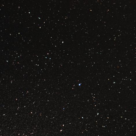 Black Andromeda Sparkle Square Edge Laminate Worktop 3M X 600mm X 40mm