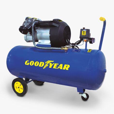 Compresor de aire comprimido 3HP y 100 litros para exteriores e interiores