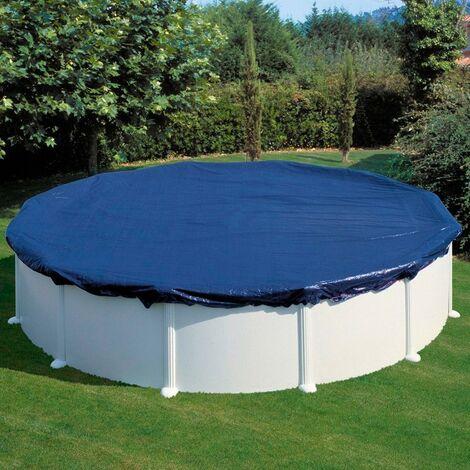 Cubierta de invierno piscina desmontable GRE Ø460 cm premium (180 gr.) CIPR451P