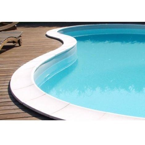 Grille et drain de plage de piscine