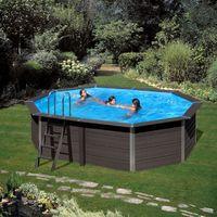 0411d984b92c kpcov66 gre piscina fuoriterra avantgarde 664x386x124 cm in materiale  composito con pompa sabbia e accessori