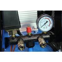 Compresor de Aire, Gasolina Eléctrico, 150L, 5.5HP - SAURIUM®