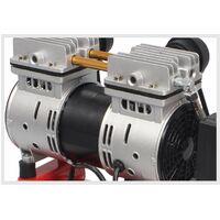 Compresor de Aire, Silencioso, Cabezal Doble, 2HP, 50L - MADER®   Power Tools