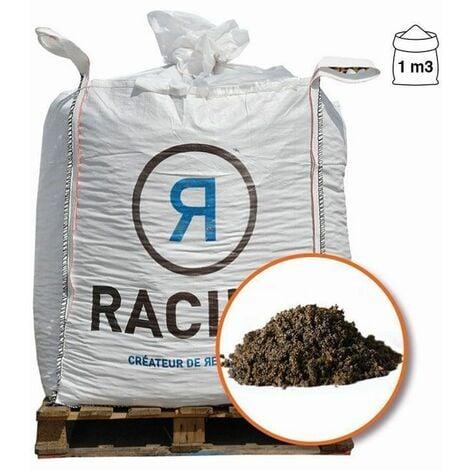 Terreau substrat pour regarnissage gazon pour sol sportif Big bag 1 m3