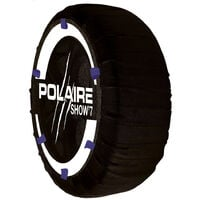 Chaussette chaine neige textile pneu 235/50R19 haute résistance