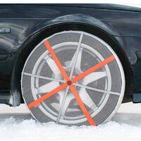 Chaussettes neige voiture 245/85R15 Autosock 4x4 SUV Utilitaires - Gris
