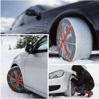 Chaussettes neige voiture 245/75R17 Autosock 4x4 SUV Utilitaires - Gris