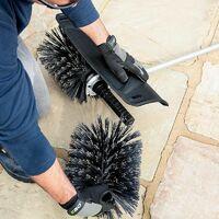 Balai brosse électrique sans fil BBA2100 pour multi outils EGO POWER - Noir