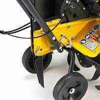 Motobineuse thermique puissante 5,6cv 2 vitesses 3 largeurs de travail jusqu'à 85cm TEXAS Lilli 534TG - Noir