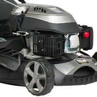 Tondeuse thermique autopropulsée 139cc 2,3cv coupe 46cm coupe mulching pack accessoires TEXAS RL460TR/W - Gris