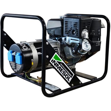 Generador eléctrico 3500w (3,5 kVA) 230v Monofásico Gasolina Grupo electrógeno INMESOL AK-400