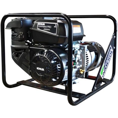 Generador eléctrico 5000w (5 kVA) 230v Monofásico Gasolina Grupo electrógeno INMESOL AK-500