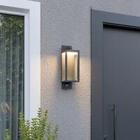 Bewegungsmelder-Außenwandlampe Ferdinand, LED