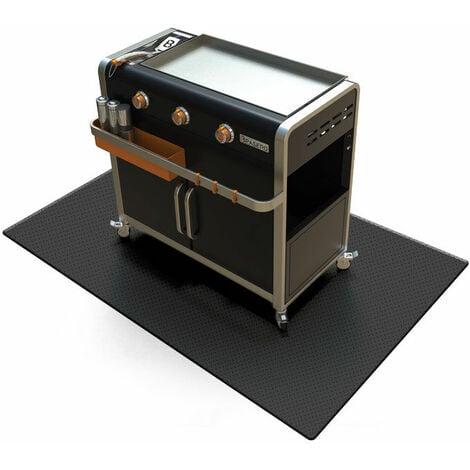 BRASERO - Tapis de barbecue et plancha - Protection - Résistant - Antiglisse - 119 x 81 cm