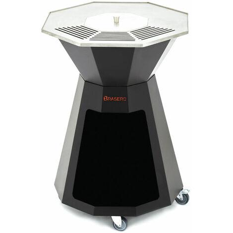 Brasero - LE PRO - Plancha, Barbecue et Brasero à bois - Surface de cuisson de la plancha de 3126 cm2