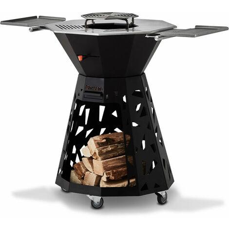 BRASERO - Le Design plancha à bois, barbecue et brasero