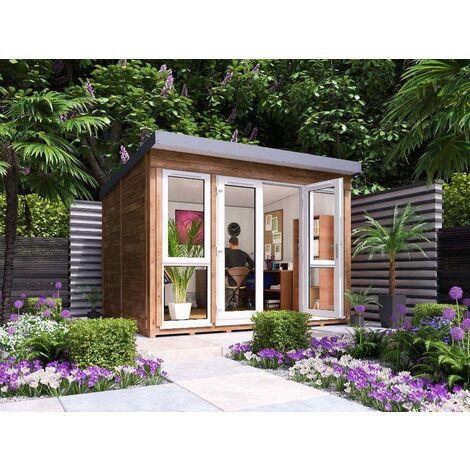 Titania Garden Office , ohne Imprägnierung , ohne Farbbehandlung , Größe:B 330 x T 270 cm
