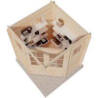 5 Eck Gartenhaus Aus Holz Modell Sunny A Ohne Impragnierung Ohne Farbbehandlung Impragnierung Ab Werk Ohne Impragnierung