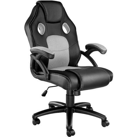 Bürostuhl Mike - Gaming Sessel, Zockersessel, Computerstuhl - negro/gris