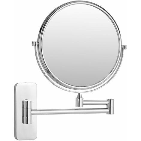 Kosmetikspiegel Wandmontage Wandspiegel Schminkspiegel Doppel Badspiegel 10x
