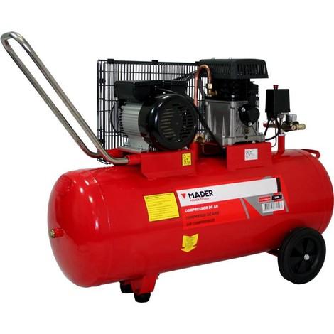 Compresor de Aire 100L 2,75HP Con Correas