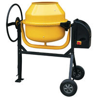 Hormigonera 160 litros / 650 W. Corona de Fundición Desmontable