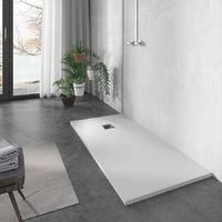 Plato de ducha resina Negro - 80x120