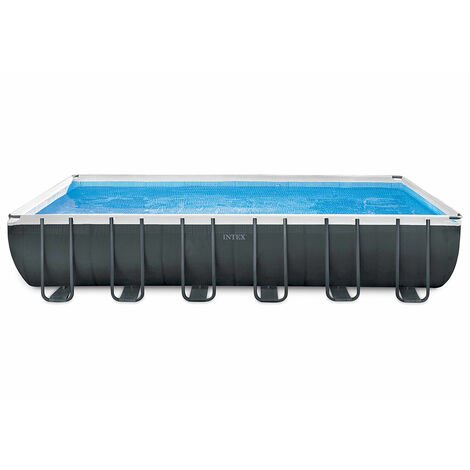 Piscina elevada desmontable Intex 26364 ex 26362 Ultra Xtr Frame rectangular 732x366x132