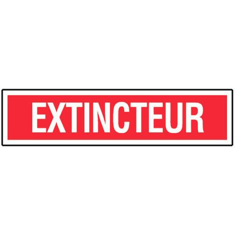 Panneau Extincteur (texte) - Rigide 330x75mm - 4120393