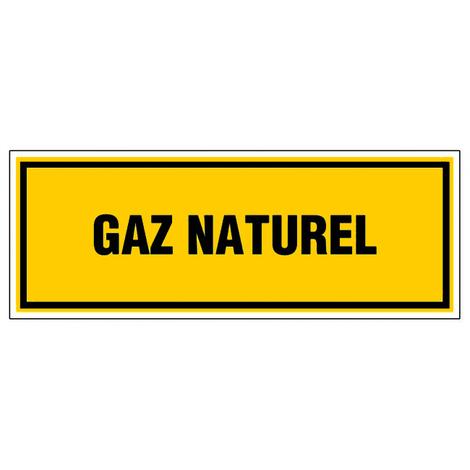 Panneau Gaz naturel - Rigide 330x120mm - 4035048
