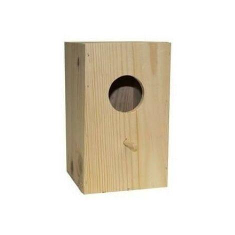 Nido de madera HOYO para NINFAS 18 x 30 x 22 cm