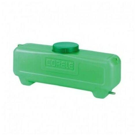Deposito 7 litros rectangular con salida de 10 mm COPELE