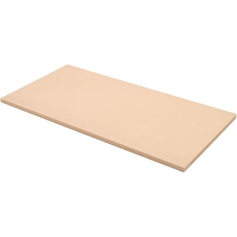 vidaXL Láminas de MDF rectangulares 2 unidades 120x60 cm 25 mm - Beige
