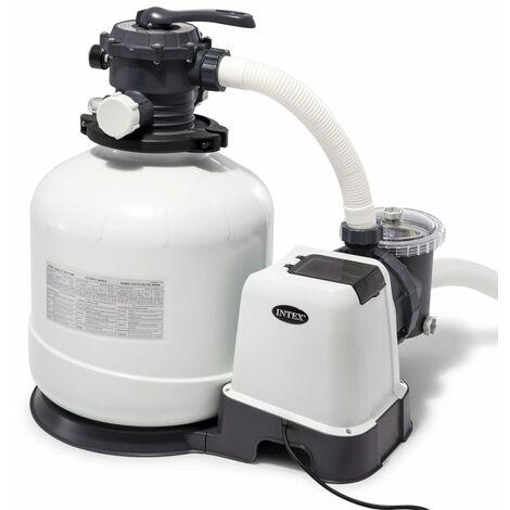 Intex Bomba de filtro de arena Krystal Clear 26652GS 12 m³/h - Blanco