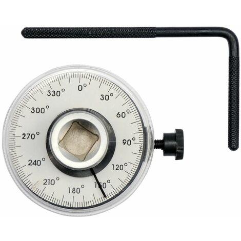YATO Medidor de ángulo y par de torsión 1/2'' 360°