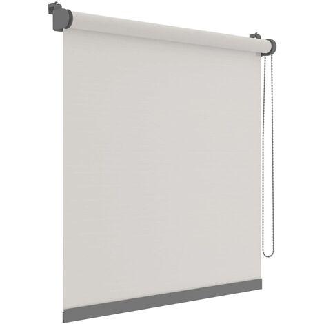 Decosol Mini estor enrollable Deluxe translúcido blanco 37x160 cm - Blanco