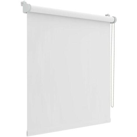 Decosol Mini estor enrollable opaco blanco 37x160 cm  - Blanco