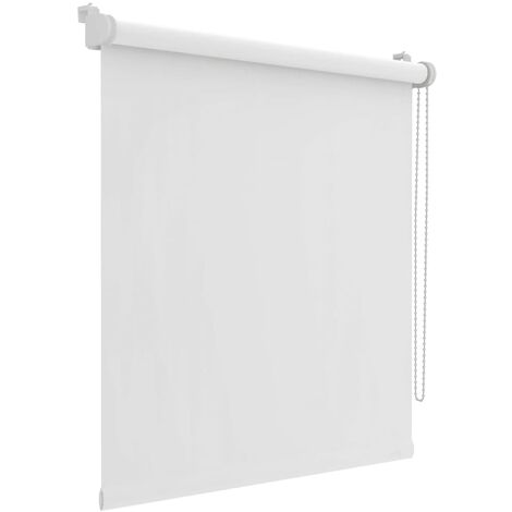 Decosol Mini estor enrollable opaca blanca 67x160 cm  - Blanco