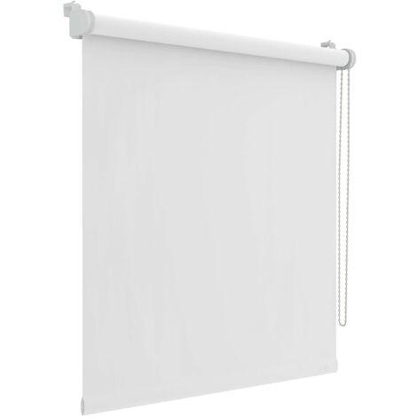 Decosol Mini estor enrollable opaca blanca 87x160 cm - Blanco
