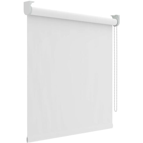 Decosol Persiana enrollable opaca blanca 60x190 cm - Blanco