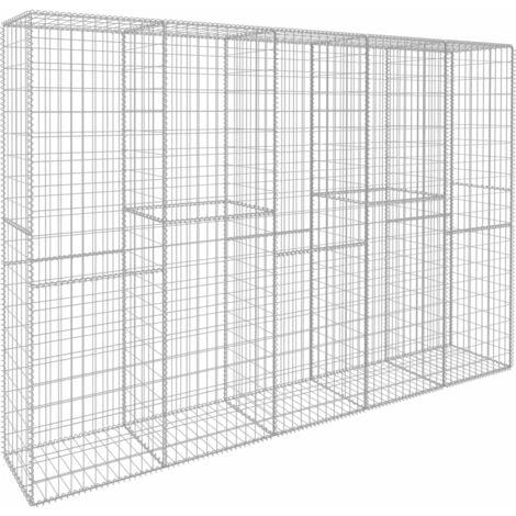Colocar un muro de gaviones