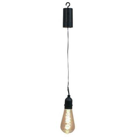 Luxform Bombilla LED de jardín a pilas Pulse - Negro