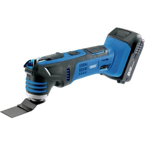 Draper Tools Multiherramienta oscilante con batería D20 2Ah 20V