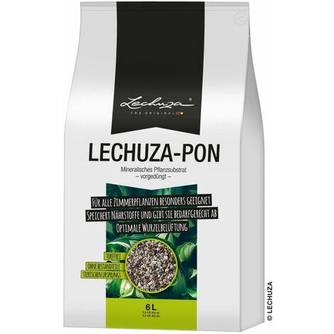 LECHUZA Sustrato para jardinera PON 6L