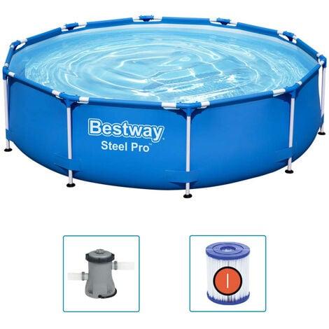 Bestway Piscina Steel Pro 305x76 cm - Azul
