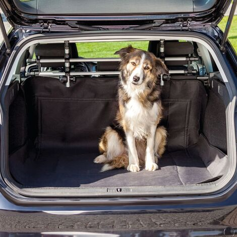 TRIXIE Funda de maletero para perros negro 120x150 cm - Negro