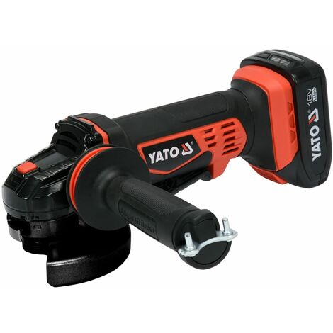 YATO Amoladora angular sin batería 18 V 125 mm
