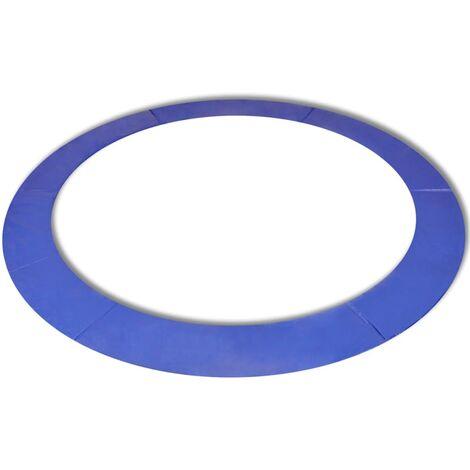 Alfombrilla de seguridad de cama elástica redonda 13'/3,96 m - Azul