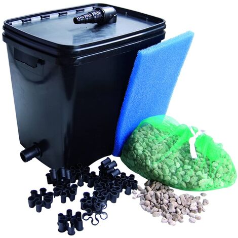 Ubbink Filtro para estanques FiltraPure 4000 26 L 1355967 - Negro